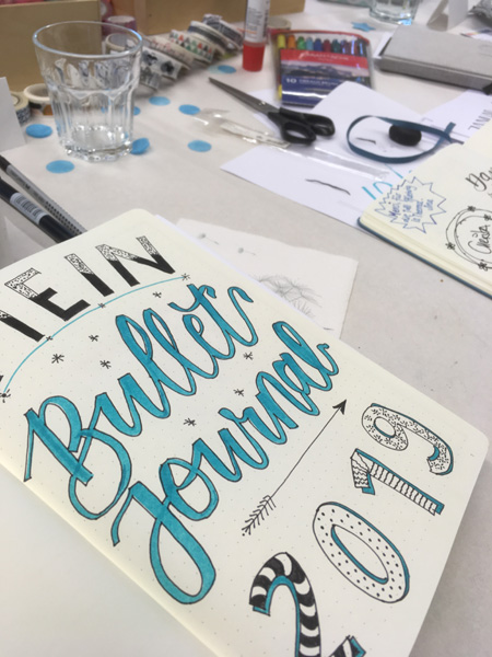 Lettering im Bullet Journal