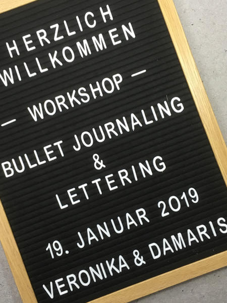 letterboard Workshop