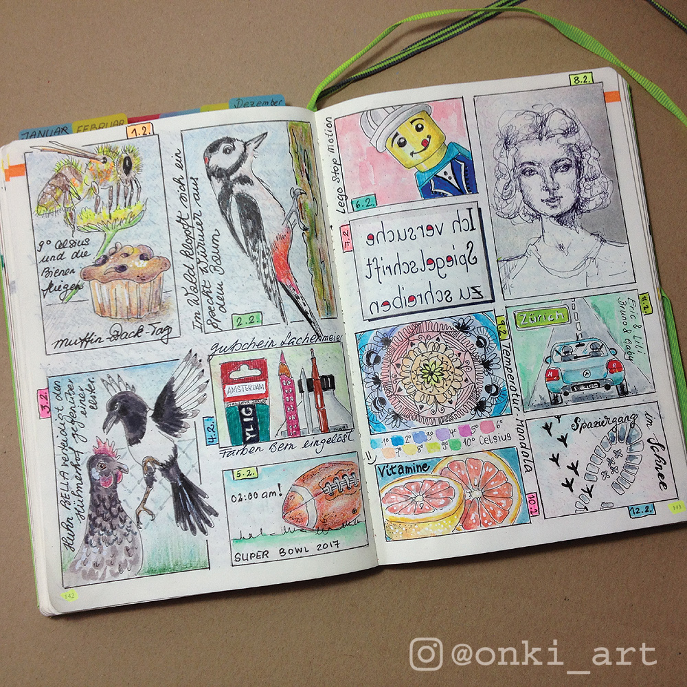 bullet journal memories