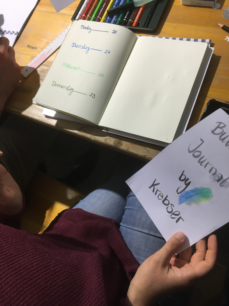 workshop krebser thun bullet journal