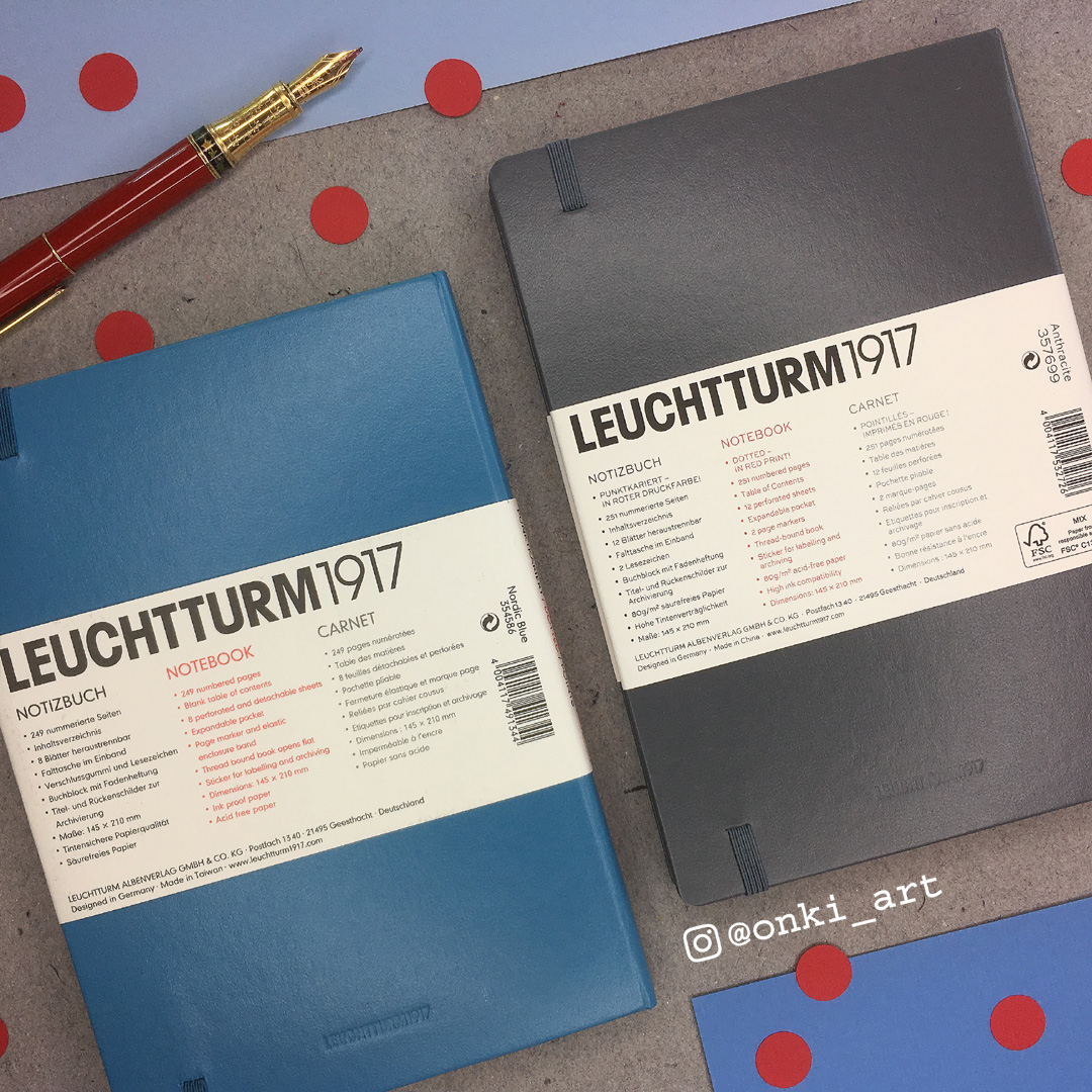 leuchtturm1917 red dots
